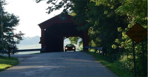 Historic Dunbar Covered Bridge - Putnam County