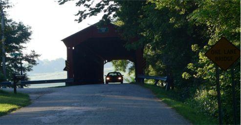 Historic Dunbar Covered Bridge - Putnam County