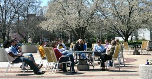 DePauw Campus - Spring