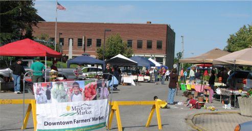 Downtown Farmer's Market - Greencastle